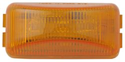 Sealed, Mini Rectangular LED Trailer Clearance, Side Marker Light, 3 Diode - Amber