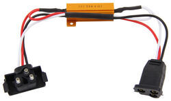 Optronics Load Resistor for LED Lights - Male PL-3 Plug and Female PL-3 Plug - Qty 1