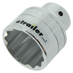 "1-7/8"" 12pt Socket - 3/4"" Drive - Chromium-Vanadium Steel"