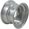 "Steel Trailer Wheel - 10"" x 6"" Rim - 5 on 4-1/2 - Galvanized Finish"