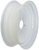 "Dexstar Solid Center Steel Wheel - 13"" x 4-1/2"" Rim - 4 on 4 - White Powder Coat"