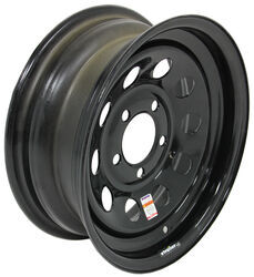 "Dexstar Steel Mini Mod Trailer Wheel - 14"" x 5-1/2"" Rim - 5 on 4-1/2 - Black"