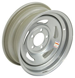 "Dexstar Steel Directional Trailer Wheel - 14"" x 5-1/2"" Rim - 5 on 4-1/2 - Silver"
