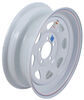 "Dexstar Steel Spoke Trailer Wheel - 15"" x 5"" Rim - 5 on 4-1/2 - White Powder Coat"