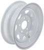"Dexstar Steel Spoke Trailer Wheel - 15"" x 5"" Rim - 5 on 5 - White Powder Coat"