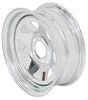 "Steel Spoke Trailer Wheel - 15"" x 6"" Rim - 5 on 4-1/2 - Galvanized Finish"