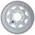 dexstar tires and wheels wheel only 15 inch steel spoke trailer - x 6 rim on 5-1/2 white powder coat