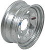"Steel Spoke Trailer Wheel - 15"" x 6"" Rim - 6 on 5-1/2 - Galvanized Finish"