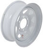 "Dexstar Steel Spoke Trailer Wheel - 16"" x 6"" Rim - 6 on 5-1/2 - White Powder Coat"