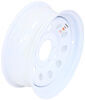 "Dexstar Steel Mini Mod Trailer Wheel - 16"" x 6"" Rim - 6 on 5-1/2 - White Powder Coat"