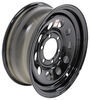 "Dexstar Steel Mini Mod Trailer Wheel - 16"" x 6"" Rim - 6 on 5-1/2 - Black Powder Coat"