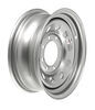 "Dexstar Silver Modular Trailer Wheel - 16"" x 6"" Rim - 8 on 6-1/2"