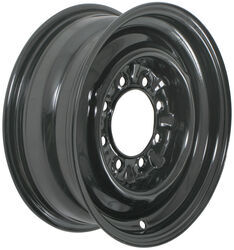 "Dexstar Conventional Steel Wheel w/ +0.5"" Offset - 16"" x 6"" Rim - 8 on 6-1/2 - Black"