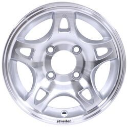 "Aluminum Split Spoke Trailer Wheel - 12"" x 4"" Rim - 4 on 4"