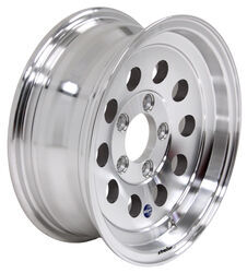 "Aluminum HWT Hi-Spec Series 03 Mod Trailer Wheel - 14"" x 5-1/2"" Rim - 5 on 4-1/2"