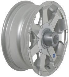 "Aluminum Hi-Spec Series 06 Trailer Wheel - 14"" x 5-1/2"" Rim - 5 on 4-1/2 - Silver"