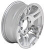 "Aluminum Split Spoke Trailer Wheel - 16"" x 6-1/2"" Rim - 6 on 5-1/2"