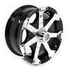 "Aluminum Hi-Spec Series 06 Trailer Wheel - 16"" x 7"" Rim - 8 on 6-1/2 - Black"