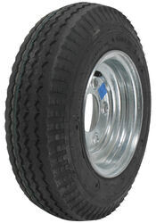 "Kenda 4.80/4.00-8 Bias Trailer Tire with 8"" Galvanized Wheel - 5 on 4-1/2 - Load Range C"