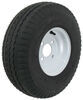 "Kenda 5.70-8 Bias Trailer Tire with 8"" White Wheel - 4 on 4 - Load Range D"