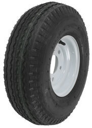 "Kenda 5.70-8 Bias Trailer Tire with 8"" White Wheel - 5 on 4-1/2 - Load Range D"