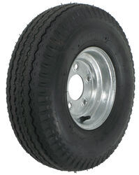 "Kenda 5.70-8 Bias Trailer Tire with 8"" Galvanized Wheel - 5 on 4-1/2 - Load Range D"
