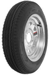 "Kenda 4.80-12 Bias Trailer Tire with 12"" Galvanized Wheel - 4 on 4 - Load Range B"