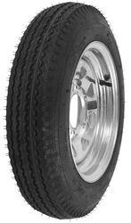 "Kenda 4.80-12 Bias Trailer Tire with 12"" Galvanized Wheel - 5 on 4-1/2 - Load Range B"
