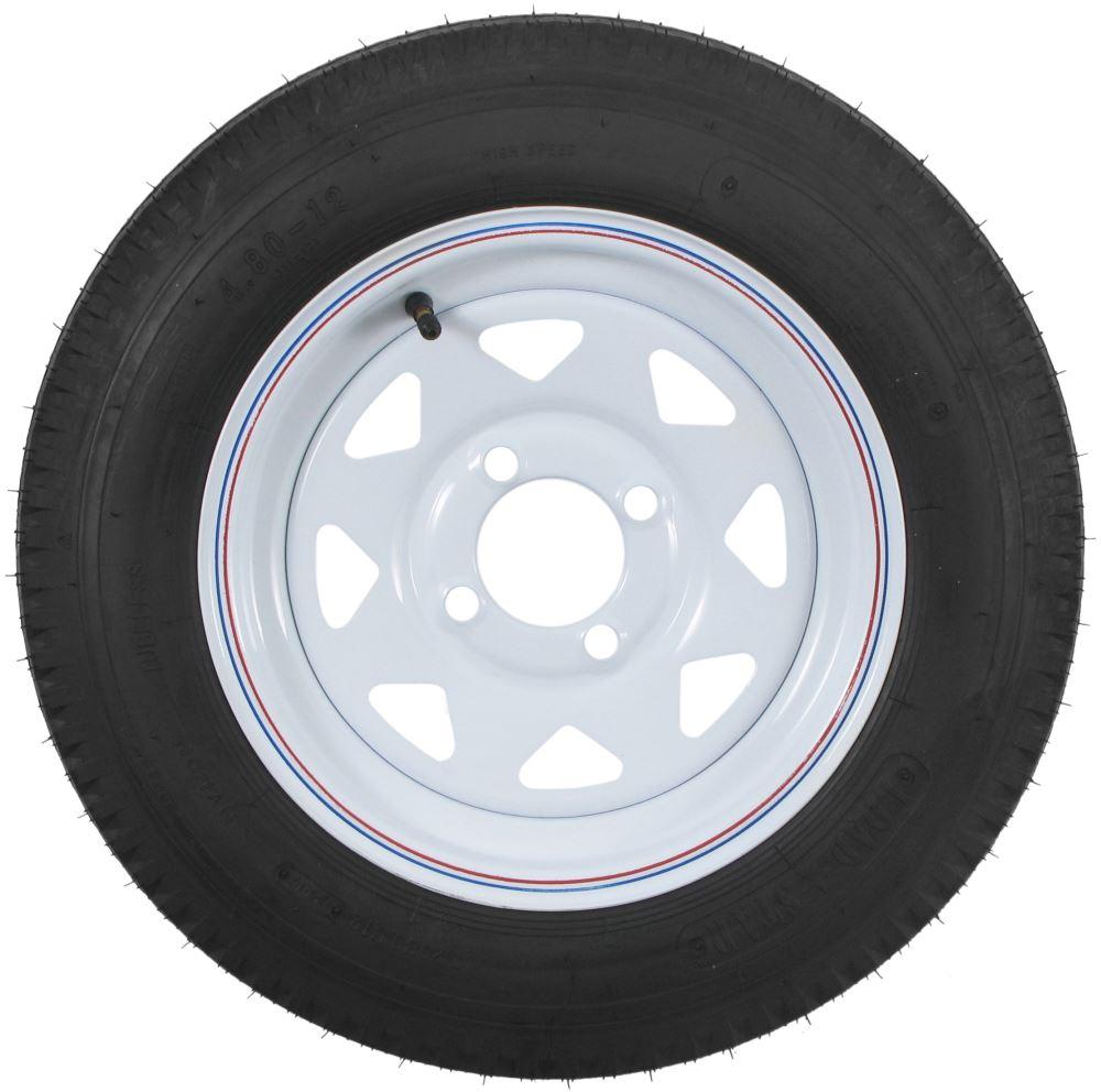 Kenda bias trailer tire with 12 white wheel 4 for Ecksofa 2 80 m