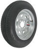 "Kenda 4.80-12 Bias Trailer Tire with 12"" Galvanized Wheel - 4 on 4 - Load Range C"