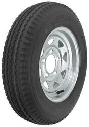 "Kenda 5.30-12 Bias Trailer Tire with 12"" Galvanized Wheel - 5 on 4-1/2 - Load Range B"