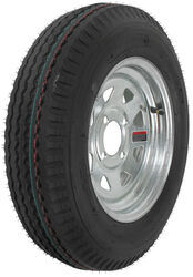 "Kenda 5.30-12 Bias Trailer Tire with 12"" Galvanized Wheel - 4 on 4 - Load Range C"