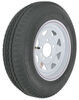 "Kenda 5.30-12 Bias Trailer Tire with 12"" White Wheel - 5 on 4-1/2 - Load Range C"