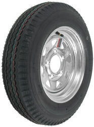 "Kenda 5.30-12 Bias Trailer Tire with 12"" Galvanized Wheel - 5 on 4-1/2 - Load Range C"