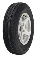 "Karrier ST145R12 Radial Trailer Tire w/ 12"" Aluminum Wheel - 5 on 4-1/2 - Load Range E"