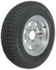 "Loadstar ST175/80D13 Bias Trailer Tire with 13"" Galvanized Wheel - 5 on 4-1/2 - Load Range D"