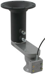 "Ranch Hitch Universal 5th-Wheel-to-Gooseneck Coupler Adapter w/8"" Offset for Short-Bed Trucks"