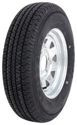 "Karrier ST175/80R13 Radial Trailer Tire with 13"" Galvanized Wheel - 5 on 4-1/2 - Load Range C"