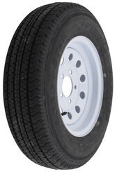 "Karrier ST175/80R13 Radial Trailer Tire w/ 13"" White Modular Wheel - 5 on 4-1/2 - Load Range C"