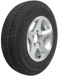 "Karrier ST175/80R13 Radial Trailer Tire with 13"" Aluminum Wheel - 5 on 4-1/2 - Load Range C"