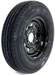"Kenda Karrier ST175/80R13 Radial Trailer Tire with 13"" Black Mod Wheel - 5 on 4-1/2 - LR D"