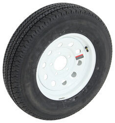 "Karrier ST175/80R13 Radial Trailer Tire w/ 13"" White Mini Mod Wheel - 5 on 4-1/2 - Load Range D"