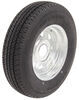 "Karrier ST175/80R13 Radial Trailer Tire with 13"" Galvanized Wheel - 5 on 4-1/2 - Load Range D"