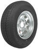 "Karrier ST205/75R14 Radial Trailer Tire with 14"" Galvanized Wheel - 5 on 4-1/2 - Load Range C"