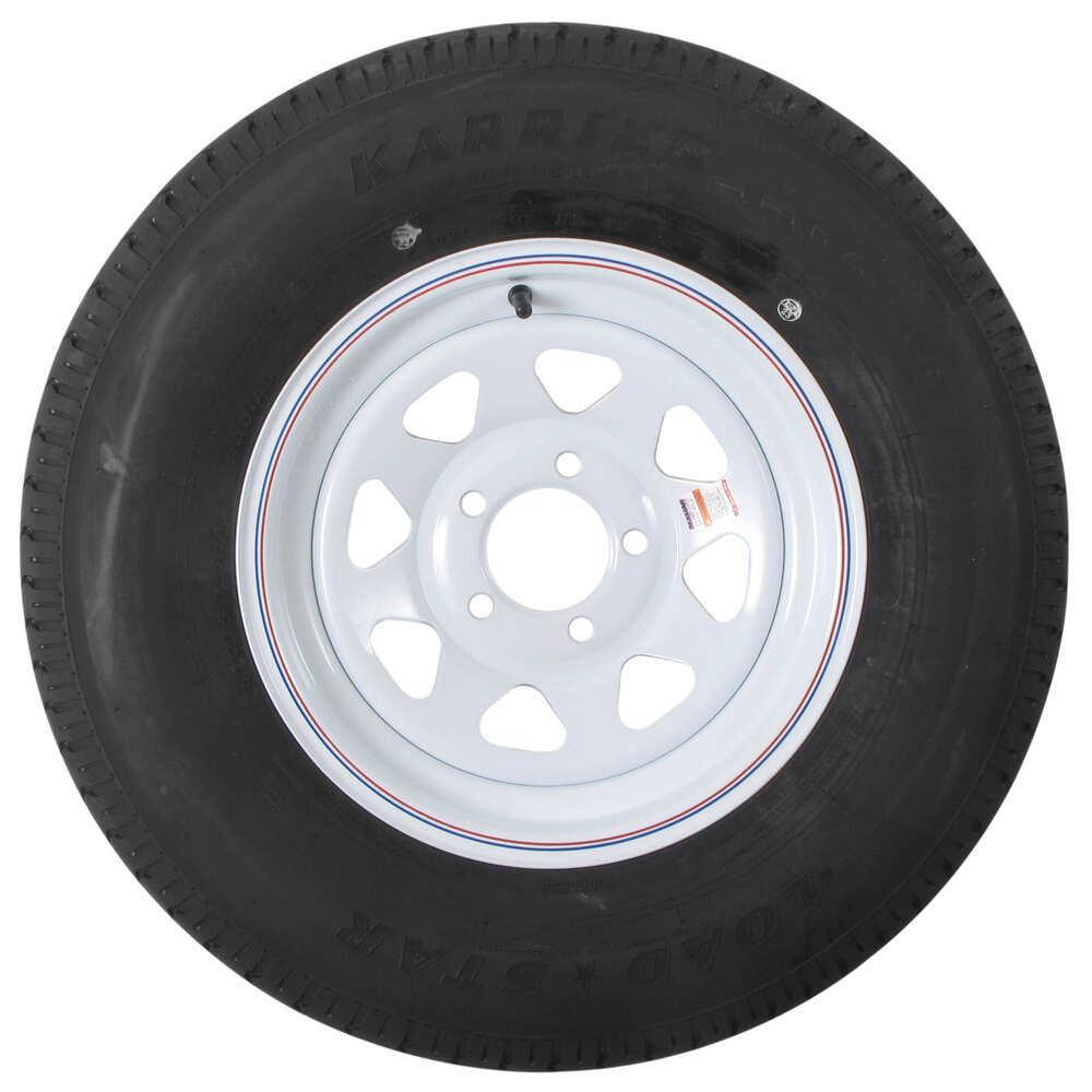 karrier st215 75r14 radial trailer tire with 14 white wheel 5 on 4 1 2 load range c kenda. Black Bedroom Furniture Sets. Home Design Ideas