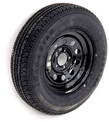 "Kenda Karrier ST205/75R15 Radial Trailer Tire with 15"" Black Mod Wheel - 5 on 4-1/2 - LR C"