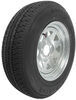"Karrier ST205/75R15 Radial Trailer Tire with 15"" Galvanized Wheel - 5 on 4-1/2 - Load Range C"