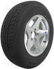 "Karrier ST205/75R15 Radial Trailer Tire with 15"" Aluminum Wheel - 5 on 4-1/2 - Load Range C"