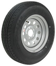 "Kenda Karrier ST205/75R15 Radial Trailer Tire w/ 15"" Silver Mod Wheel - 5 on 4-1/2 - LR D"