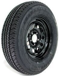 "Kenda Karrier ST205/75R15 Radial Trailer Tire with 15"" Black Mod Wheel - 5 on 4-1/2 - LR D"